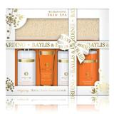 Подаръчен комплект Baylis & Harding Skin Spa Energising Tray Set – Душ гел 300мл, Душ крем 300мл, Крем за тяло 130мл, Мляко за баня 300мл, Ексфолираща лента