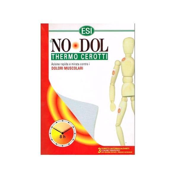 Термични пластири за мускулни и ставни болки ESI No-Dol, 3..