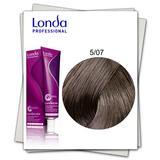 Перманентна боя - Londa Professional нюанс 5/07 светло кестеняво естествено кафяво