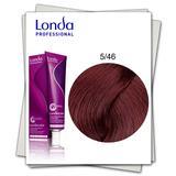 Перманентна боя - Londa Professional нюанс 5/46 светло кестеняво медено виолетово