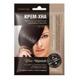 Растителна крем боя Henna Fitocosmetic, Черен, 50мл