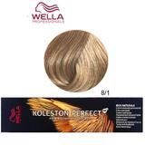 Перманентна крем боя - Wella Professionals Koleston Perfect ME+ Rich Naturals, нюанс 8/1 светло пепелно русо