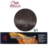 Перманентна крем боя - Wella Professionals Koleston Perfect ME+ Rich Naturals, нюанс 5/1 светло пепелно кестеняво