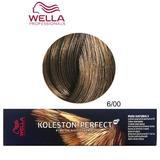 Перманентна крем боя - Wella Professionals Koleston Perfect ME+ Pure Naturals, нюанс 6/00 естествено тъмно русо