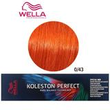 Перманентна крем боя Mixton - Wella Professionals Koleston Perfect Special Mix, нюанс 0/43 златисто червено