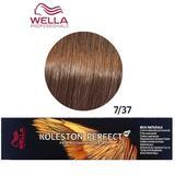 Перманентна крем боя - Wella Professionals Koleston Perfect ME+ Rich Naturals, нюанс 7/37 средно русо златисто кестеняво