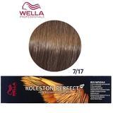 Перманентна крем боя - Wella Professionals Koleston Perfect ME+ Rich Naturals, нюанс 7/17 средно русо пепелно кафяво