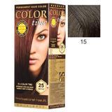 Перманентна боя за коса Rosa Impex Color Time, нюанс 15 Dark Chocolate