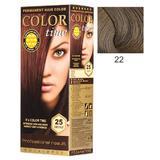 Перманентна боя за коса Rosa Impex Color Time, нюанс 22 Moccachino