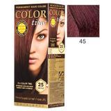 Перманентна боя за коса Rosa Impex Color Time, нюанс 45 Sour Cherry