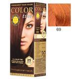 Перманентна боя за коса Rosa Impex Color Time, нюанс 69 Copper Passion
