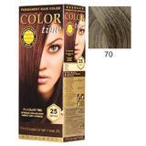 Перманентна боя за коса Rosa Impex Color Time, нюанс 70 Dark Ash Blonde