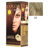 Перманентна боя за коса Rosa Impex Color Time, нюанс 91 Platinum Blonde