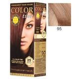 Перманентна боя за коса Rosa Impex Color Time, нюанс 95 Light Pink Blonde