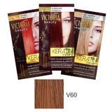 Тонизиращ шампоан с кератин Camco Victoria Beauty Keratin Therapy, нюанс V60 Dark Blonde, 40мл