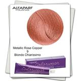 Боя без амоняк - Alfaparf Milano Color Wear нюанс 9 Metallic Rose Copper Много светло русо