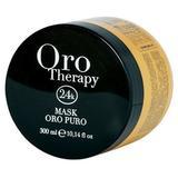 Озаряваща маска с кератин и арган - Fanola Oro Therapy Illuminating Mask with Keratin and Argan, 300мл