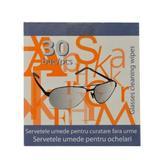 Мокри кърпички за очила FLM Group, 30 броя
