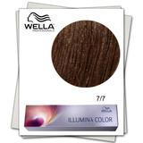 Перманентна боя - Wella Professionals Illumina Color нюанс 7/7 средно русо кафяво