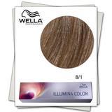 Перманентна боя - Wella Professionals Illumina Color нюанс 8/1 пепелно светло русо