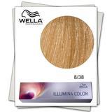 Перманентна боя - Wella Professionals Illumina Color нюанс 8/38 светло русо златисто синьо
