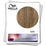 Перманентна боя - Wella Professionals Illumina Color нюанс 8/69 светло русо перлено виолетово