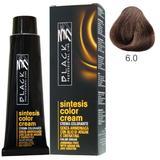 Крем боя без амоняк - Black Professional Line Sintesis Color Cream Ammonia Free, нюанс 6.0 Dark Blond, 100мл