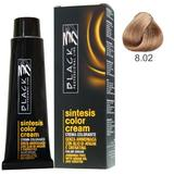 Крем боя без амоняк - Black Professional Line Sintesis Color Cream Ammonia Free, нюанс 8.02 Sand, 100мл