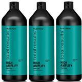 Пакет 3 x Шампоан за обем - Matrix Total Results High Amplify Shampoo 1000 мл