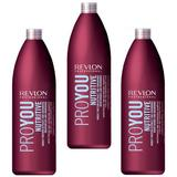 Пакет 3 x Подхранващ шампоан - Revlon Professional Pro You Nutritive Shampoo 1000 мл