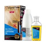 Обезцвешяващо масло за руса коса Blond Time номер 8 Rosa Impex, 120мл + 60гр