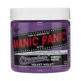 Полу-перманентно директно боядисване - Velvet Violet Manic Panic 118 мл