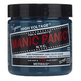 Полу-перманентна директна боя - Manic Panic Classic, нюанс Mermaid 118 мл
