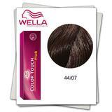 Боя без амоняк - Wella Professionals Color Touch Plus нюанс 44/07 интензивно средно кафяво