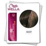 Боя без амоняк - Wella Professionals Color Touch Plus нюанс 55/07 светло кестеняво интензивен естествено кестеняво
