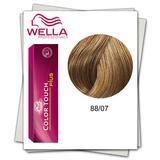 Боя без амоняк - Wella Professionals Color Touch Plus нюанс 88/07 средно русо интензивно естествено кестеняво