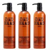 Пакет от 3 x Балсам за боядисана коса- TIGI  Bed Head 750 мл