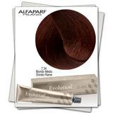 Перманентна боя - Alfaparf Milano Evolution of the Color нюанс 7.34 Средно русо медено златисто