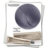 Перманентна боя - Alfaparf Milano Evolution of the Color Metallic Silver нюанс 7MS Среднп русо