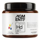 Маска за нормална боядисана коса - Alfaparf Milano Pigments Hydrating Mask 200 мл