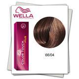 Боя без амоняк - Wella Professionals Color Touch Plus нюанс 66/04 интензивно тъмно червено русо
