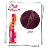 Боя без амоняк - Wella Professionals Color Touch нюанс 55/65 интензивно светло кестеняво виолетов махагон
